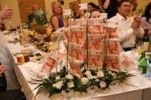Оформить подарок на свадьбу